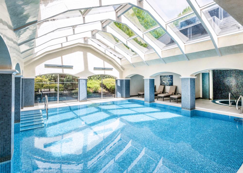 Swimming pool at ettington park