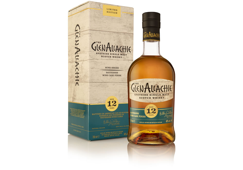 The GlenAllachie Distillery releases series of whiskies finishes in Wine Casks