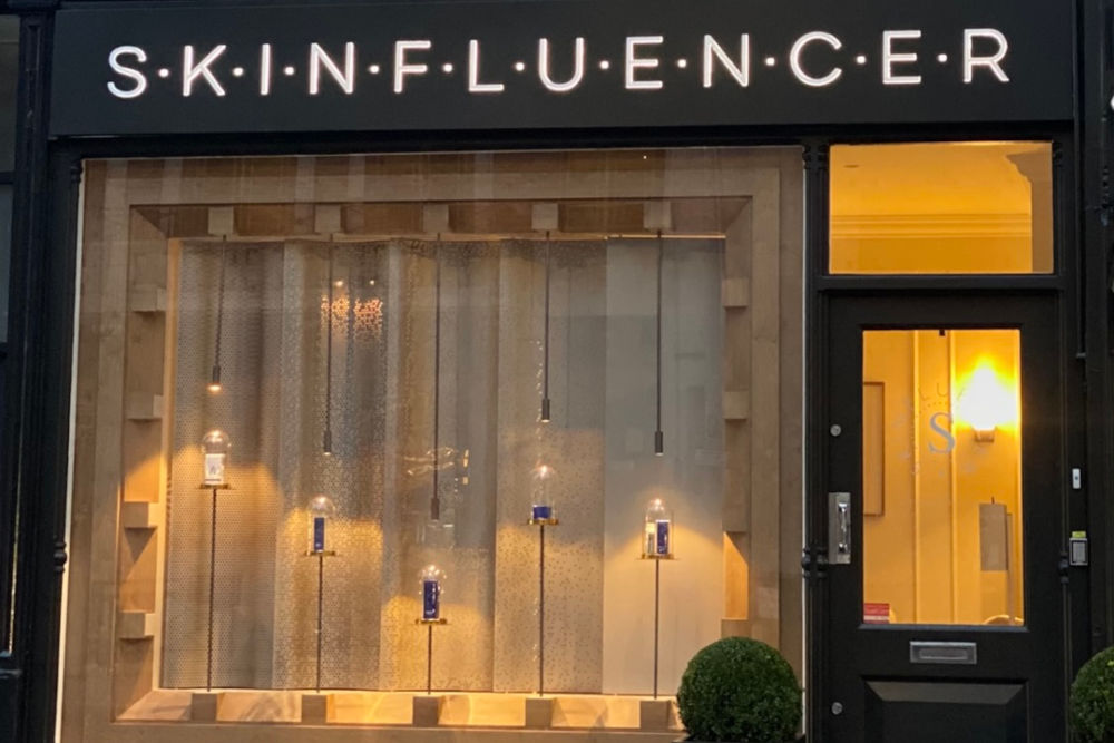 Skinfluencer clinic in Fulham Road