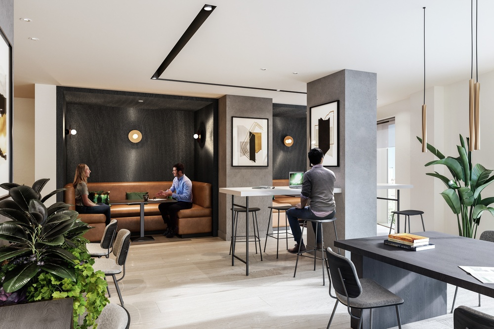 Amenities Business Lounge People View 02