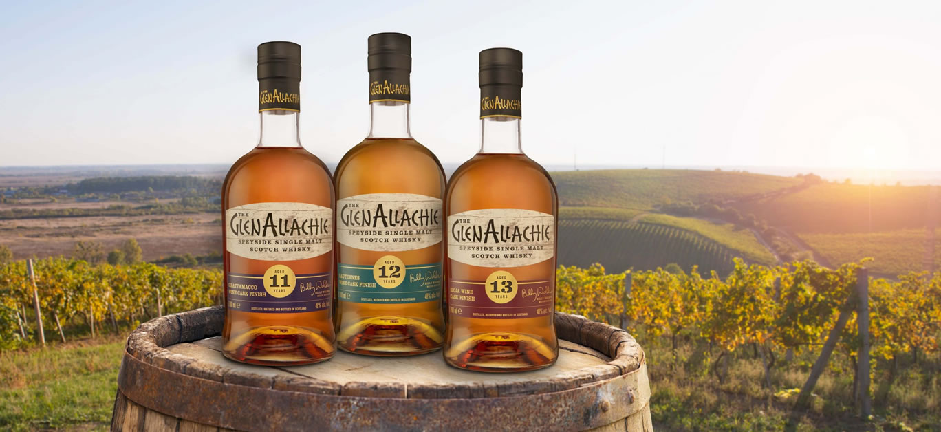 MAIDEN WINE CASK FINISH SERIES FROM GLENALLACHIE