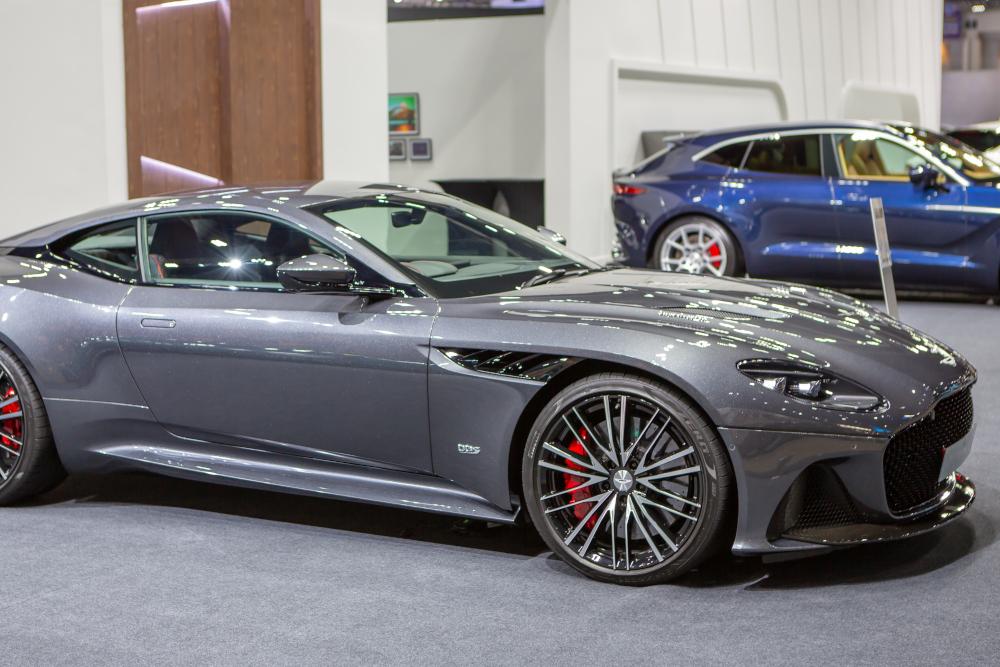 Aston Martin car at dealership