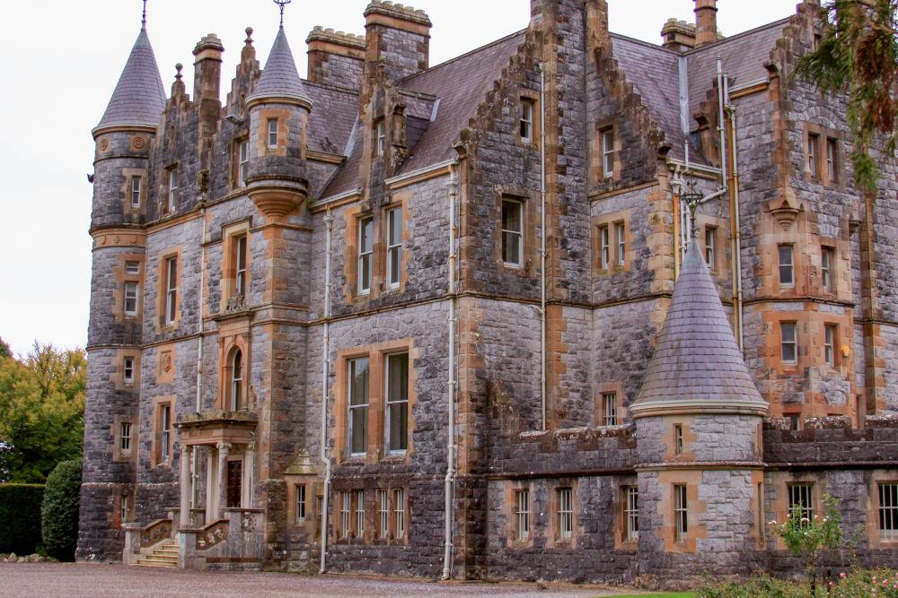 Blarney Castle tourist attraction in Ireland