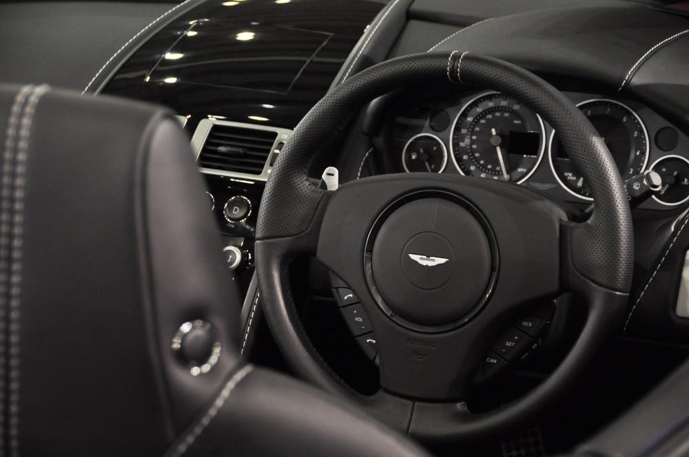 Aston Martin car interior