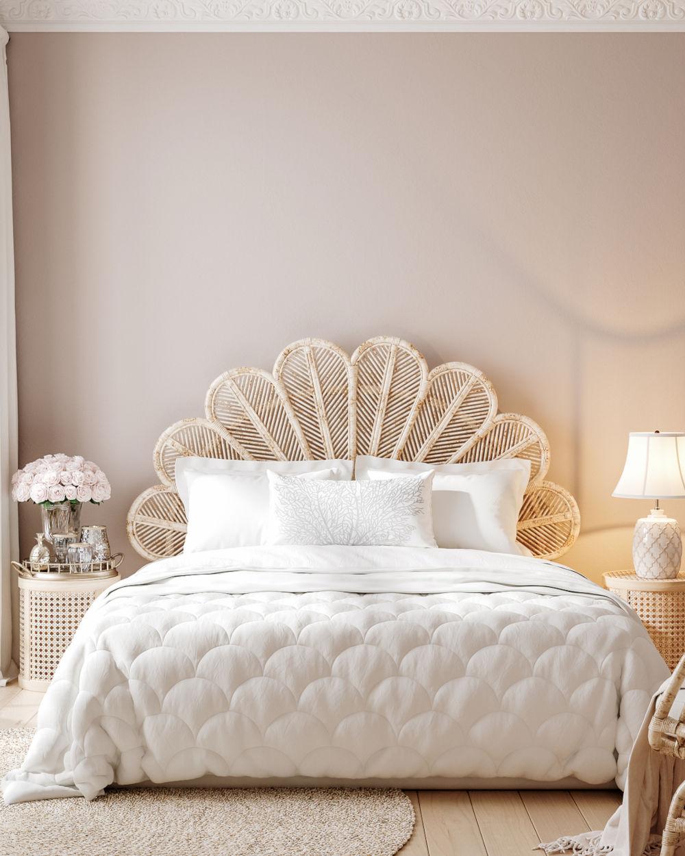 Luxury feminine bedroom