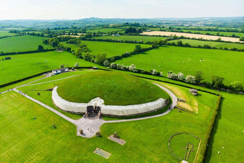 Newgrange, a prehistoric monument