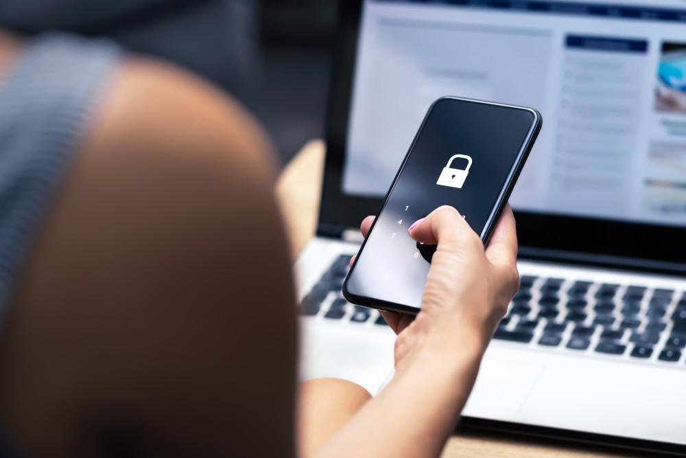 Password and login pass code in smartphone