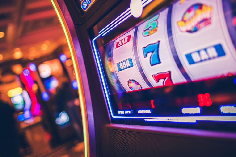 Slot Machine One Handed Bandit Game