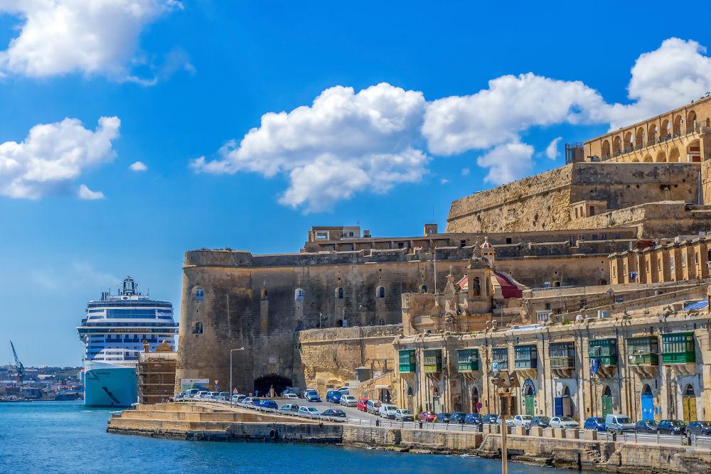 The Grand Harbour of Malta