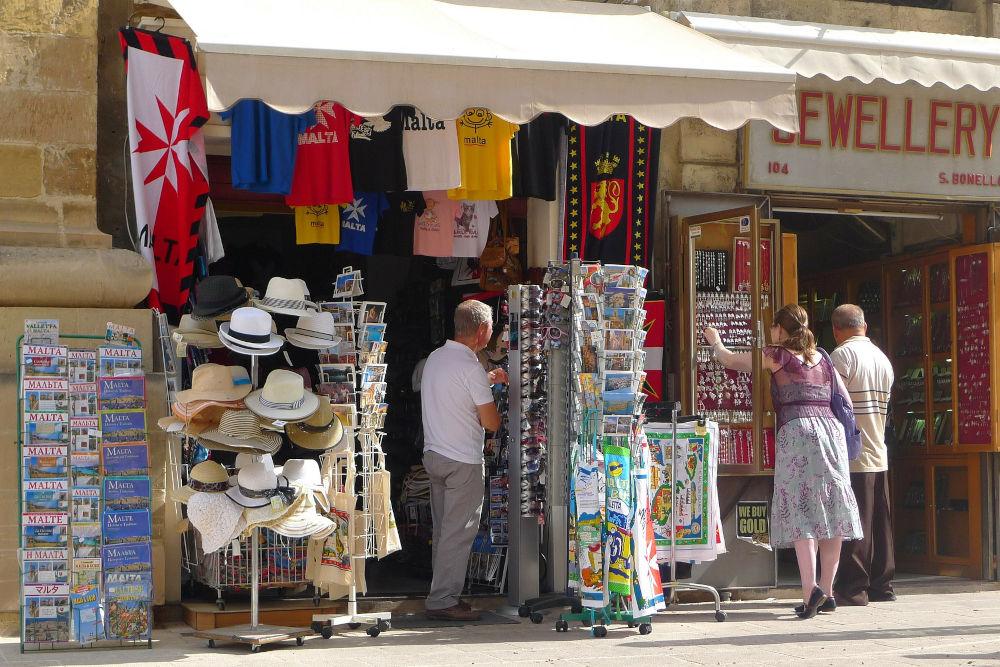 Shop in Malta
