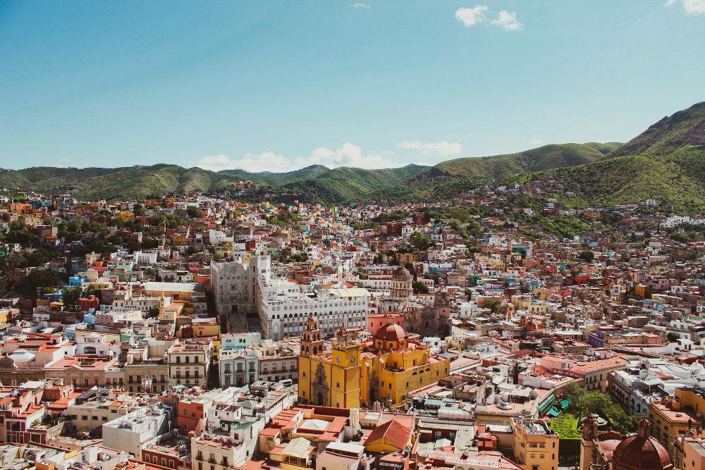City of Quanajato in Mexico