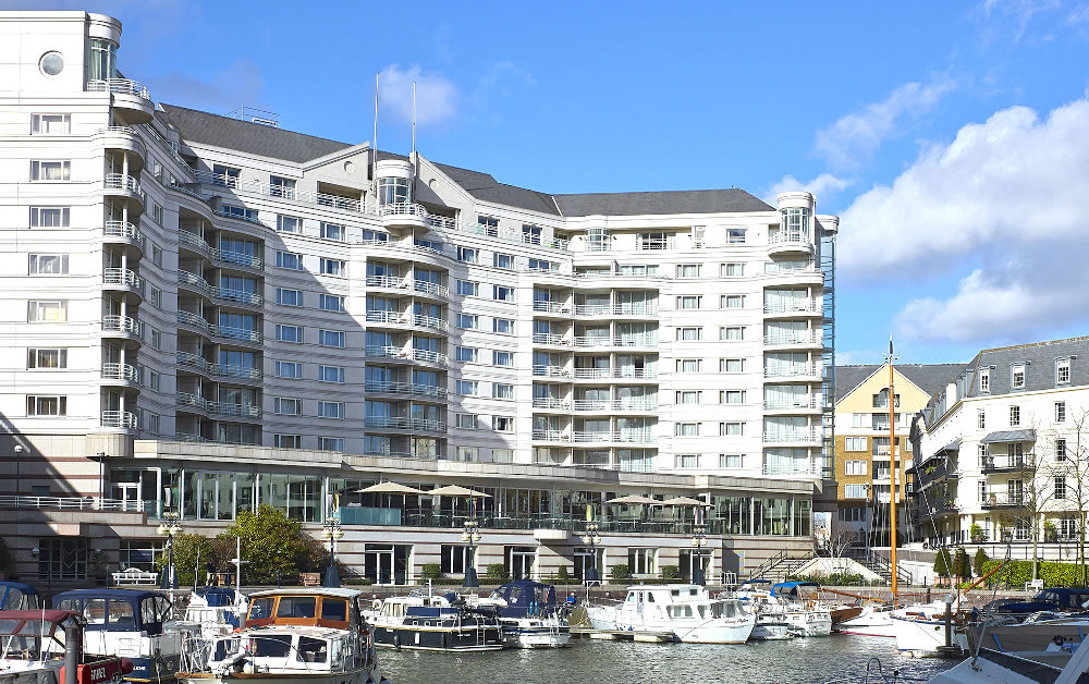 The world-renowned five-star Chelsea Harbour Hotel