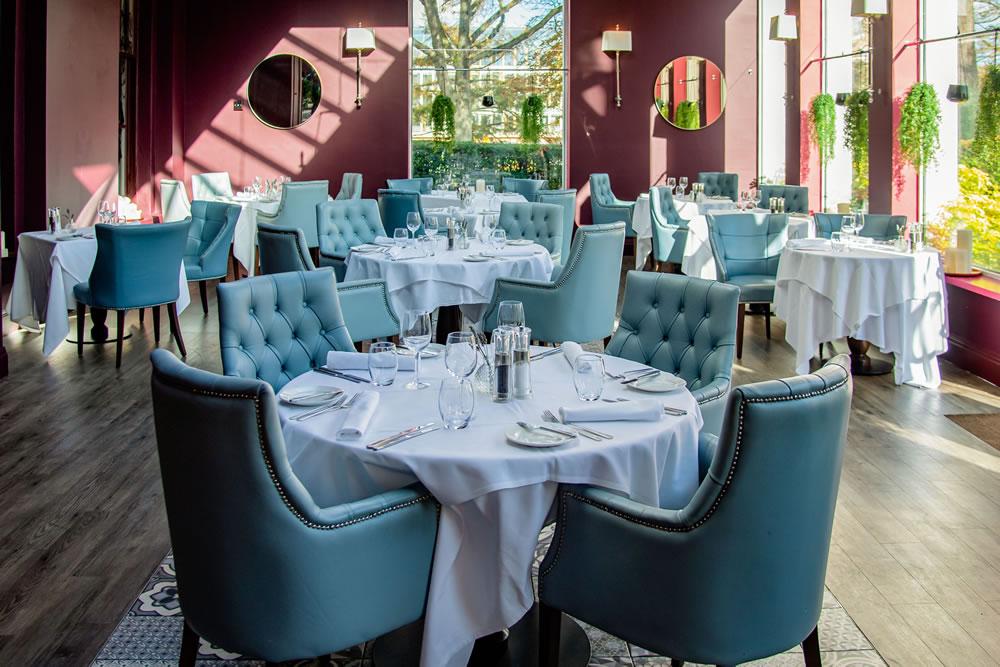 Restaurant at Queens Hotel, Cheltenham