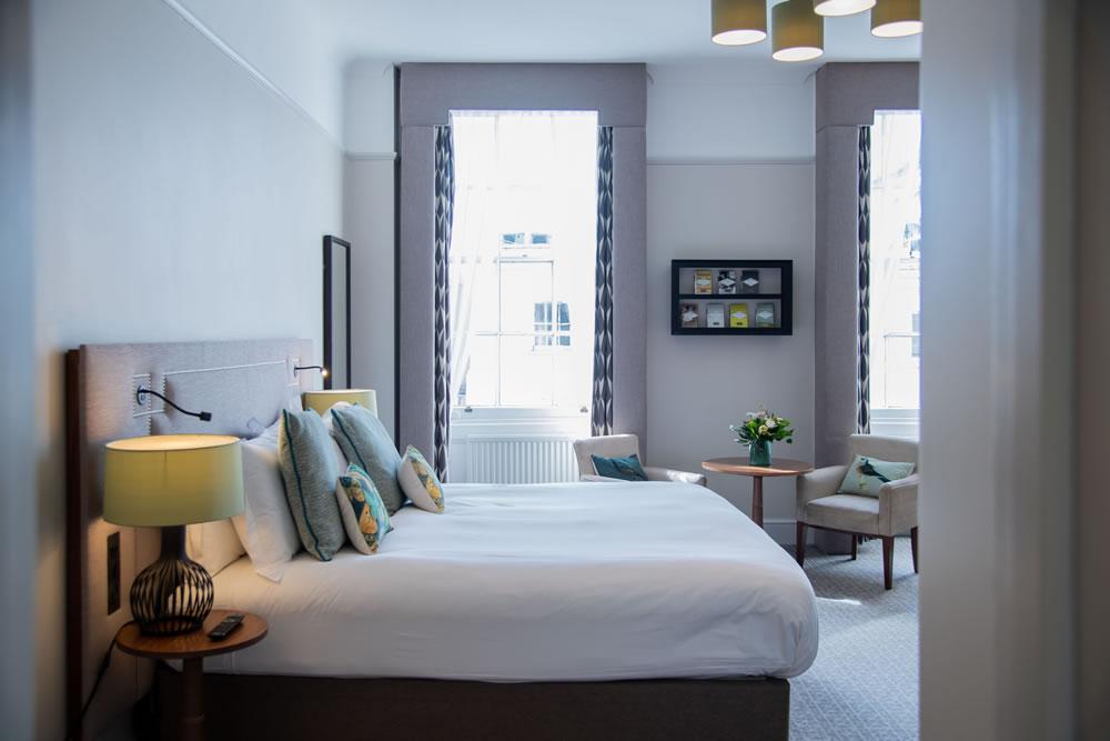 Bedroom at Queens Hotel, Cheltenham