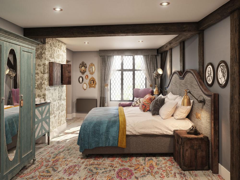 Bedroom at Hotel Indigo, Stratford Upon Avon