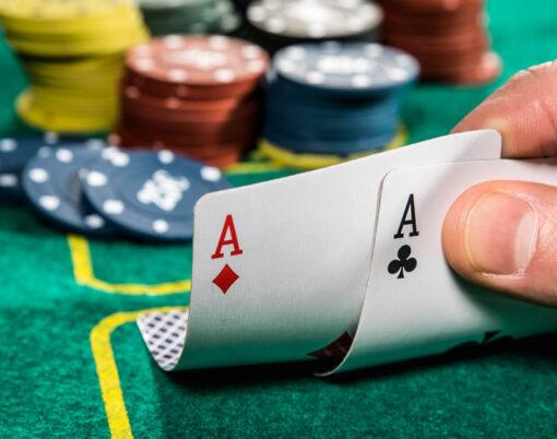 blackjack in the casino