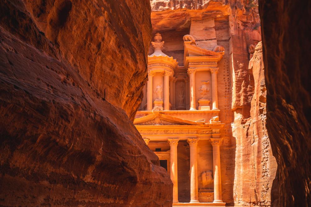 Al Khazneh, aka The Treasury at Petra, Jordan