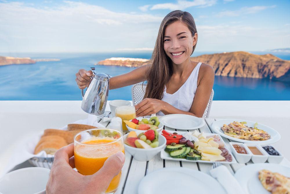 Greece food breakfast