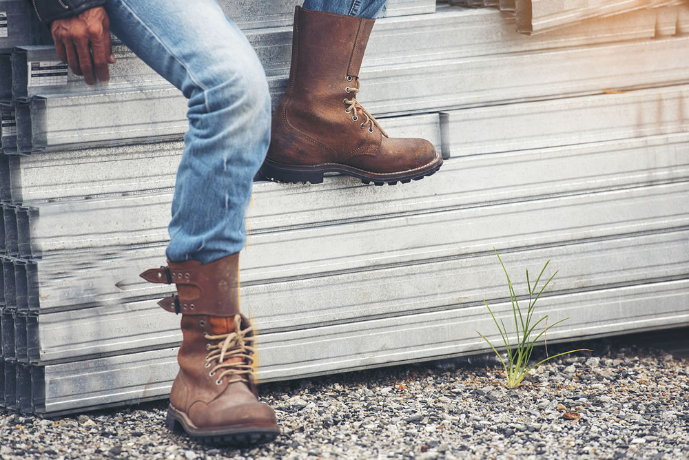 The chunky ankle boot