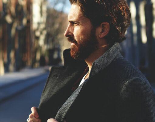 man fashion coat
