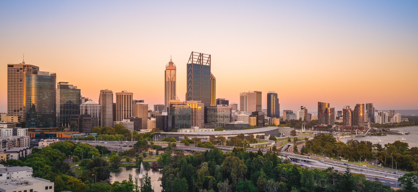 Skyline Of Perth