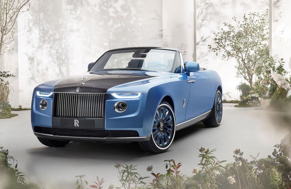 Rolls-Royce's Boat Tail