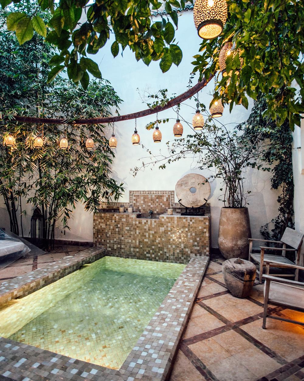 Luxury garden tile ideas