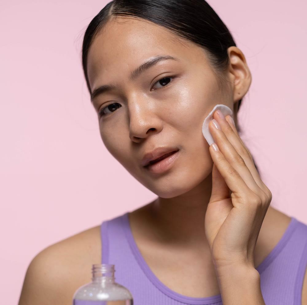healthy looking skin