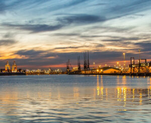 Southampton twilight