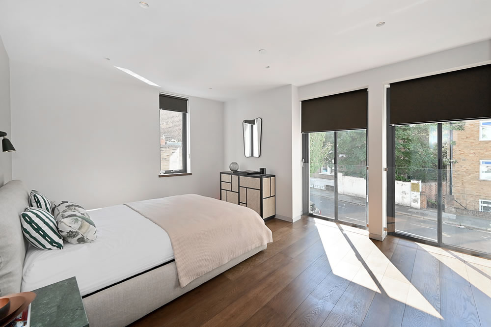 The Tailored House master bedroom