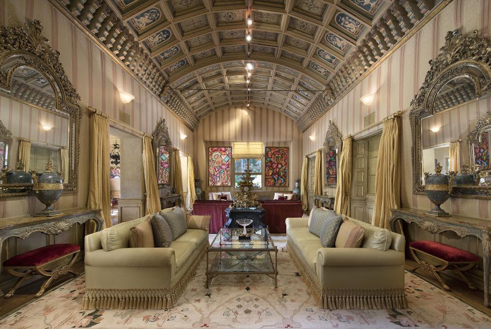 Hearst estate living room