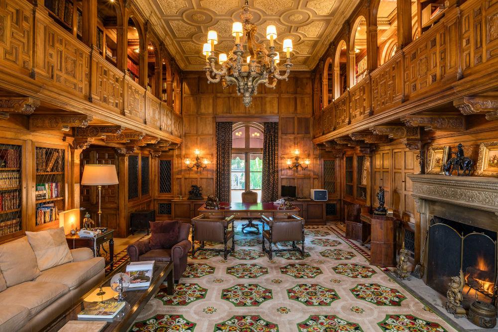 hearst estate library