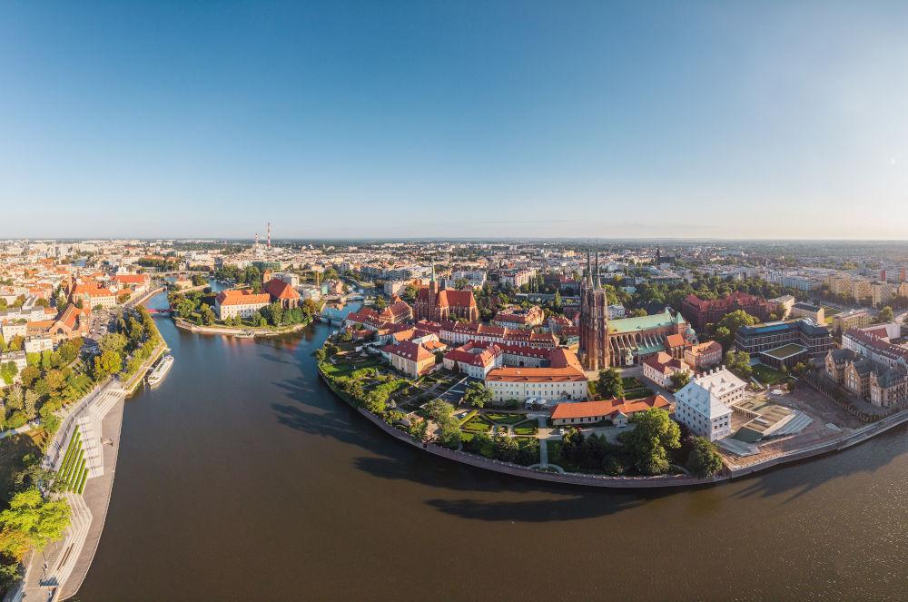 Wroclaw river