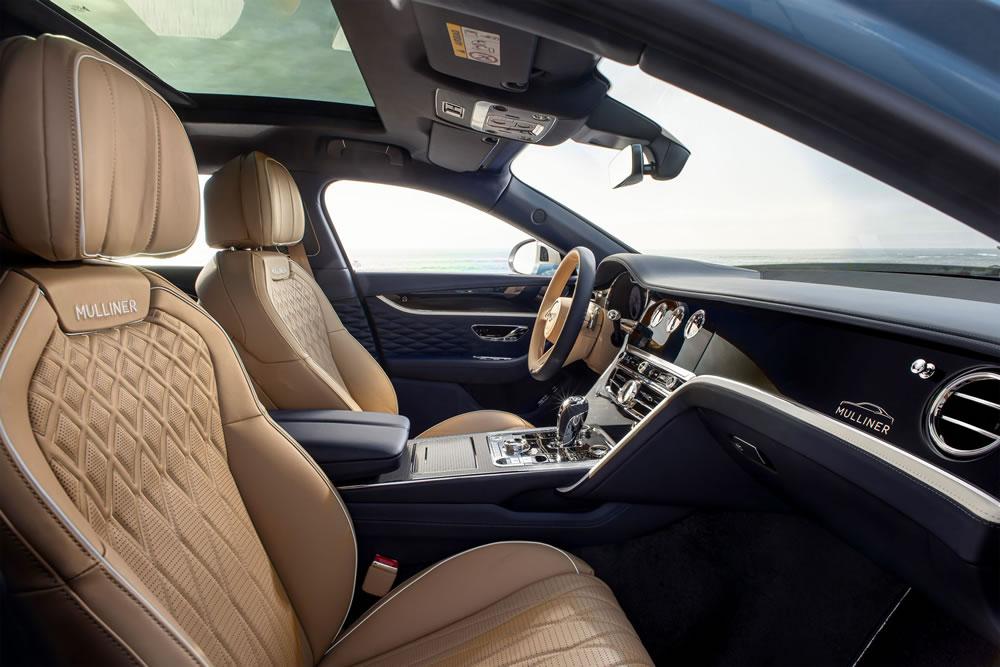 Bentley Flying Spur Mulliner Grand Tourer - interior