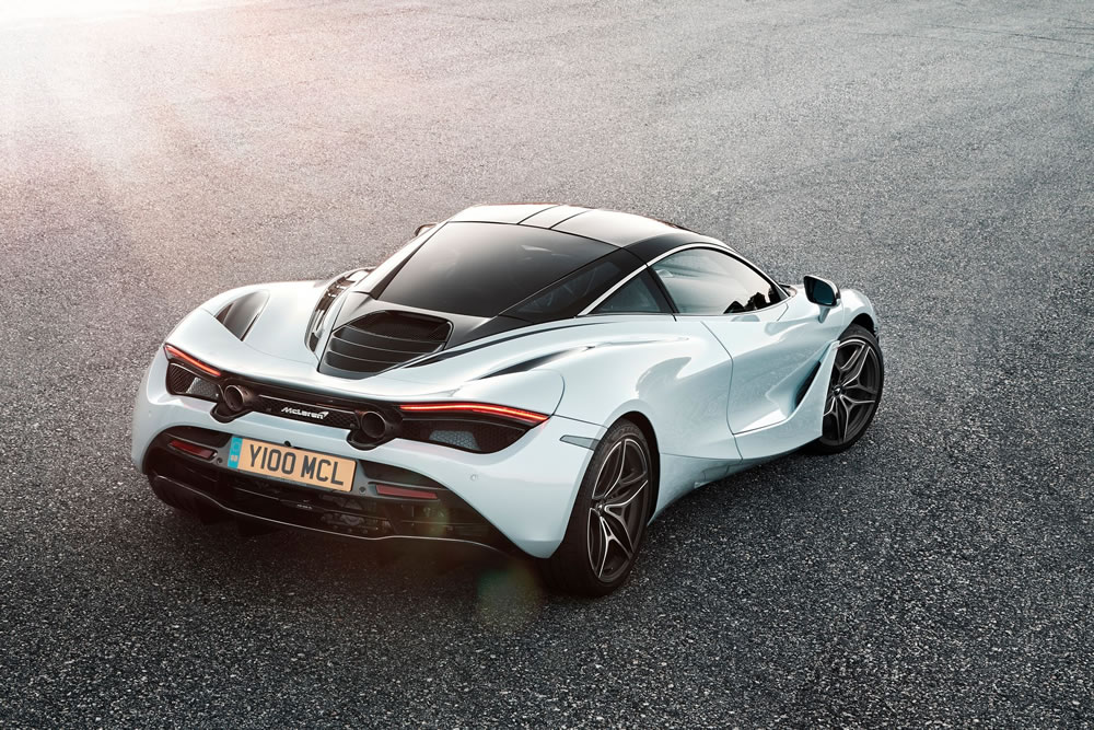 The McLaren 720S Coupe