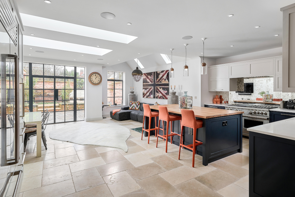 Luxury bespoke kitchen by Christopher Peters