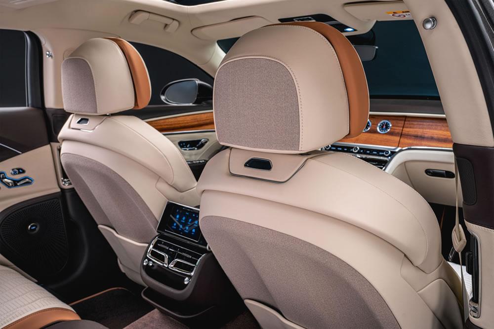Bentley Flying Spur Hybrid interiors