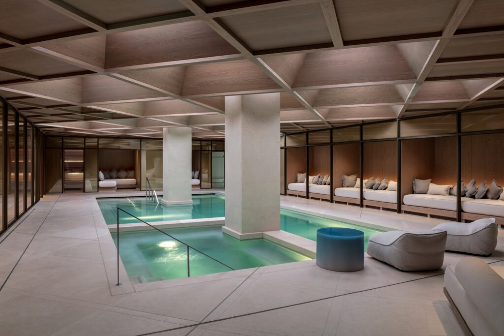 The Retreat pool at The Londoner
