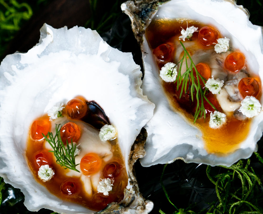 rikku oyster dish