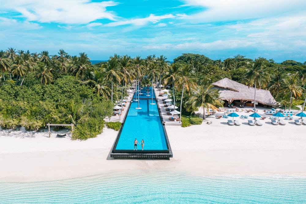 Fairmont Maldives resort