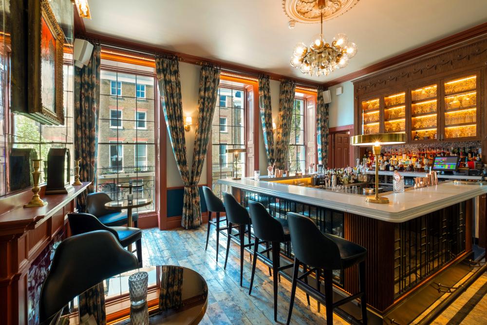 Homegrown private members' club bar