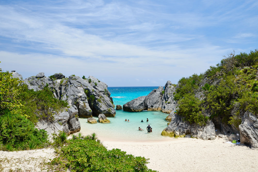 Jobson's Cove Beach Bermuda