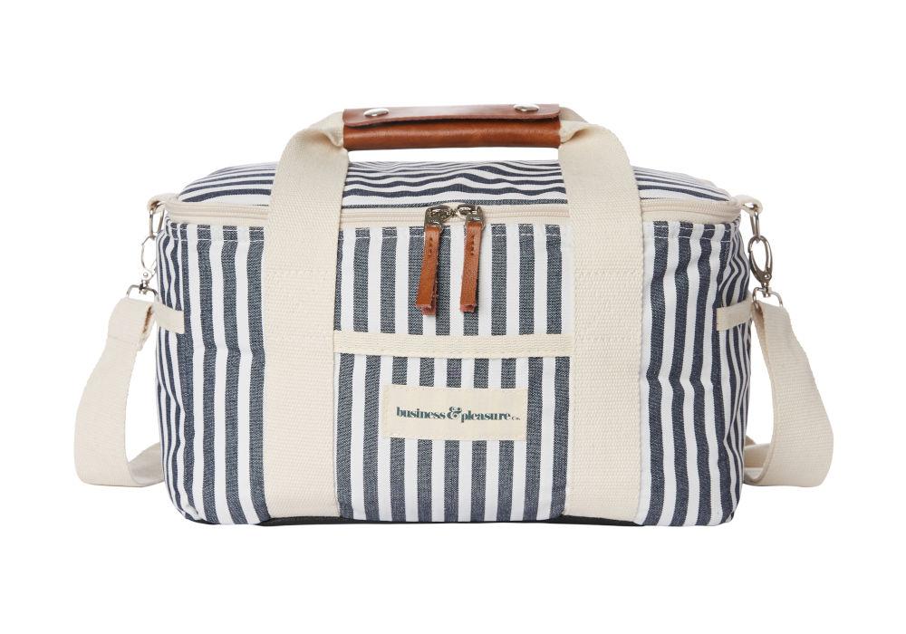The Premium Cooler Bag, Lauren's Stripe by Business & Pleasure