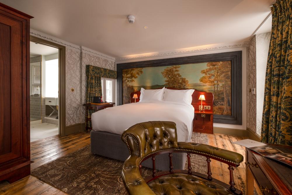 Homegrown private members' club bedroom