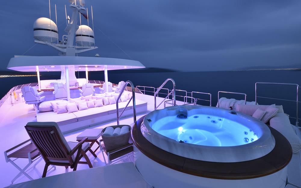 Azzura II top deck