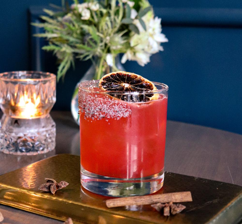 spiced autumn cocktail