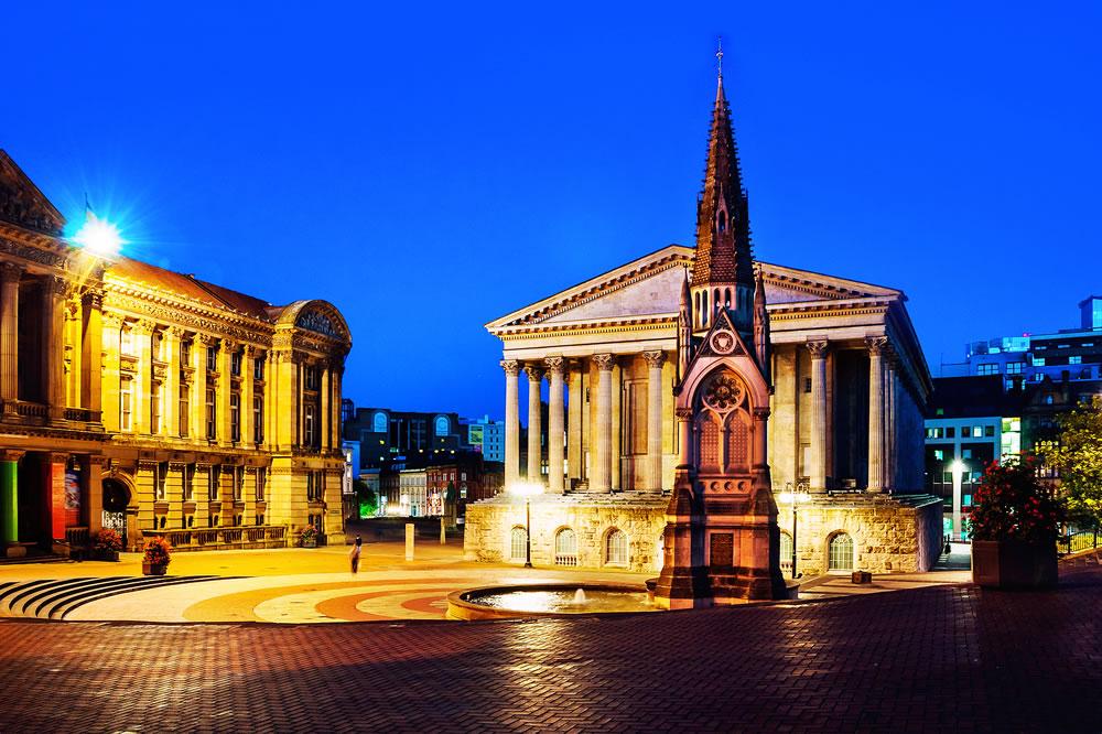 Birmingham in the UK