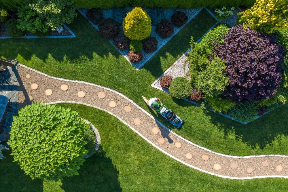 Landscape your garden