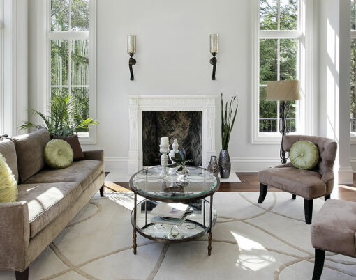 luxury living room interiors