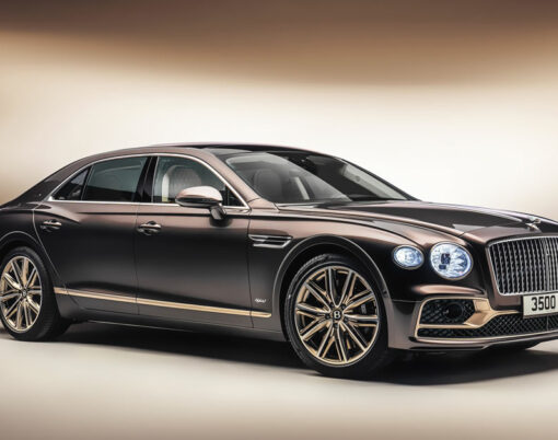 Bentley Flying Spur Hybrid side view